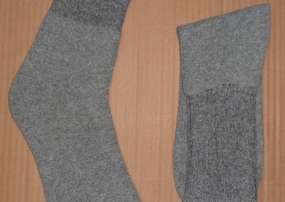 Sports socks gray